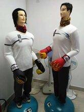 耐用仿真宣泄人情感宣泄机器人宣泄橡胶人图片