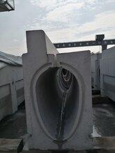 福大清水-清水混凝土卵型排水沟预制件模具图片