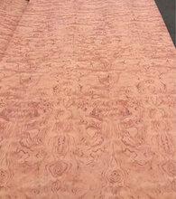 天然球形花梨木饰面板,图片