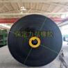 尼龙输送带耐磨耐高温挡边输送带工业橡胶防滑环形输送带传输带