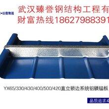 金属屋面系统_铝镁锰板_65直立锁边图片
