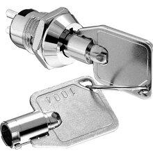 S146四脚ON-ON两档电源锁_12mm钥匙开关_微型电源钥匙锁