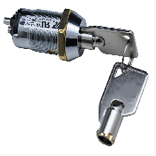 S202Z两档钥匙开关_19mm电源锁_UL认证PC脚电源钥匙开关