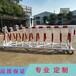 江西学校校门通道出入口阻隔护栏1.2米高防冲撞可移动拒马