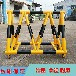 東莞校門通道阻隔護欄活動黃黑圓管鐵馬防水帶反光