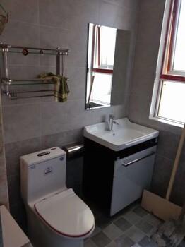 欧必德集成热水器不挂墙带浴室柜的热水器