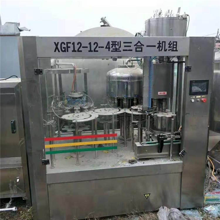 出售二手饮料灌装机24头矿泉水灌装机直销灌装机