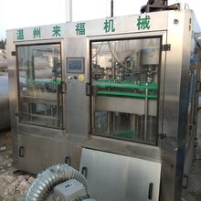 瓶装水灌装机矿泉水全自动三合一灌装机纯净水饮料生产线设备机器图片
