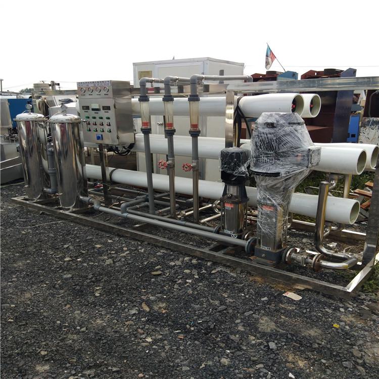山东出售二手水处理反渗透设备8吨双级水处理设备价格