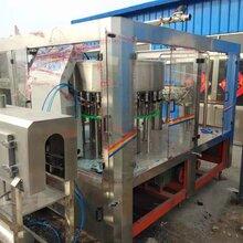 诚航直销二手碳酸饮料灌装机果汁饮料灌装机三合一矿泉水灌装机图片