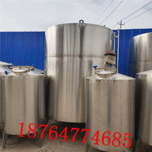 出售一批不锈钢搅拌罐5立方不锈钢搅拌罐液体储罐价格图片
