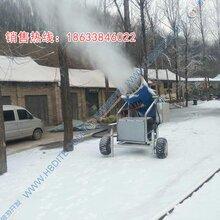 国内认证黔南出雪量大万丰造雪机制雪机直销