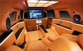 奔馳G級車室內裝潢太空椅改裝后內飾高端私人訂制