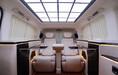 佛山改装奔驰威霆航空座椅沙发床全车真皮改色多少钱?