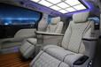 豐田塞納改裝航空座椅改裝塞納邁巴赫頂燈加裝木地板