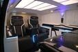 廈門改裝奔馳威霆改裝航空座椅沙發床木地板升級定制