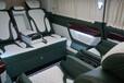 奔馳威霆改裝航空座椅改裝威霆邁巴赫頂燈加裝木地板