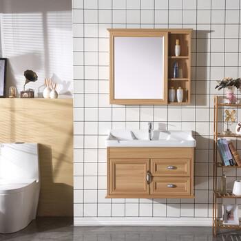 碳纤维浴室柜组合简约小户型洗手盆柜洗脸盆