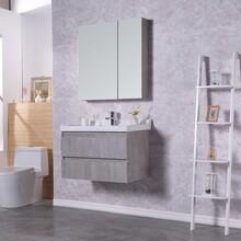 生態實木浴室柜批發,多層實木免漆浴室柜批發,河南浴室柜廠圖片