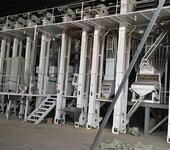 日产30吨大米加工设备设计科学、噪音小、能耗低