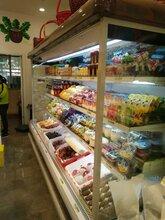 葉縣賣水果冷風柜的加濕風幕柜冰柜的廠家