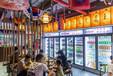 河南商超連鎖超市冷鏈設備廠家冷庫安裝建設冷風柜