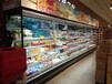 河南商超冷鏈代理肉柜熟食柜冷風柜后補式冷庫