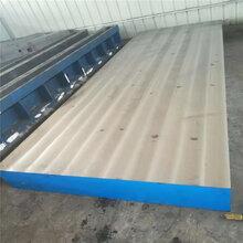 专业生产铸铁平台检验平台划线平板研磨平台图片
