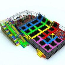 室内淘气堡儿童游乐园大型主题游乐场设备厂家定制图片