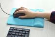 广东鼠标垫工厂硅胶护腕鼠标垫定制人体工学办公