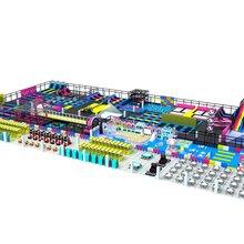 专业生产设计蹦床公园儿童乐园及室外游乐设备厂家图片