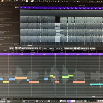 零基础MIDI编曲培训一对一录音师培训免费音源拷贝