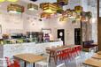 杭州輕餐廳裝修設計效果案例-浙江國富裝飾