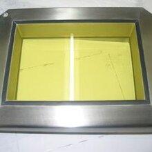 防辐射铅玻璃里的制造流程图片