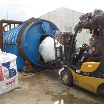 回收輪胎煉油設備