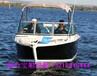5.77米海上钓鱼艇小型游钓艇私人船艇近海钓鱼船铝合金快艇船钓艇