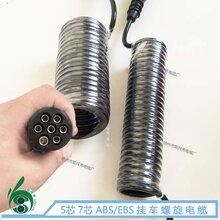 PU螺旋電纜,彈簧線,汽車螺旋電纜線--特種螺旋電纜-斯拜秀電纜廠