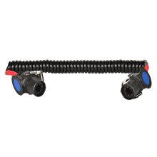 斯拜秀彈簧線,5芯螺旋連接線汽車螺旋線5米