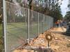 农村公路边防护栏乡下公路两边安装绿色护栏