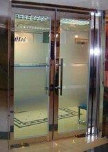 成都玻璃防火门厂家,四川钢质乙级防火玻璃门图片