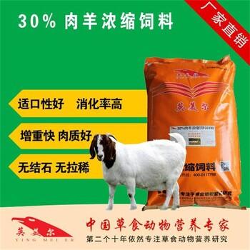 供应英美尔牌30%肉羊浓缩饲料-6330-适用于全阶段肉羊羊浓缩料羊爱吃的饲料