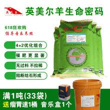 云南昆明英美尔育肥羊怎么喂长得快提供饲料配方性价比最高