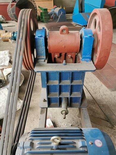 潮州煤矿沙石鄂式破碎机石子粉碎机
