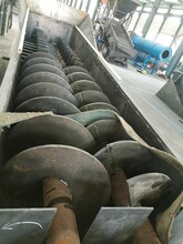 吉安石英石螺旋洗礦機水洗砂泥設備圖片