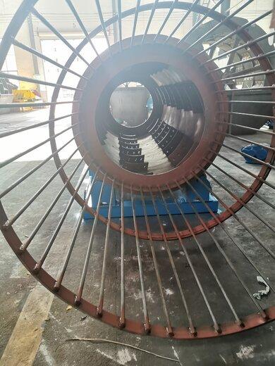 钦州煤炭石子圆筒洗矿机猪笼筛设备