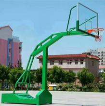 柳州供应移动标准篮球架地埋篮球架生产厂家