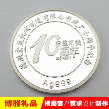 银质纪念币纪念币厂家千足银纪念币庆典纪念品图片