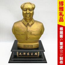 毛主席铜像纯铜毛主席铜像纯铜雕塑办公摆件湖南赠送客户礼品图片