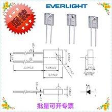 亿光原装方型高灵敏接收器红外接收管插件式接收探头PT908-7C图片