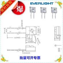 台湾亿光原装红外线接收管插件式接收管接收探头PT928-6C图片